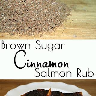 Brown Sugar Cinnamon Salmon Rub.