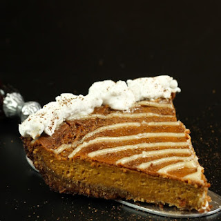 Cinnamon Roll Pumpkin Pie