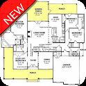 Modern House Plan Design icon
