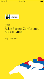 37th Asian Racing Conference - náhled