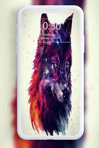 Galaxy Wild Wolf Wallpapers 1.0 screenshots 7