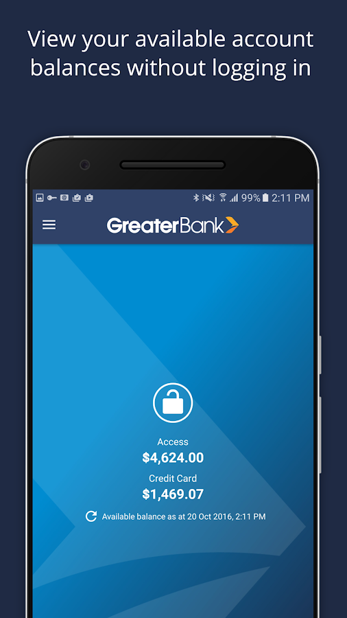 Greater Bank- screenshot