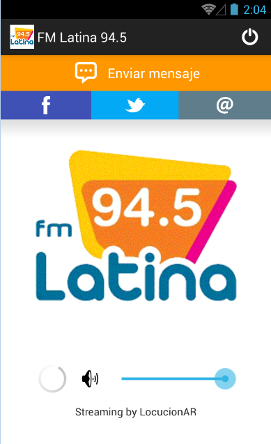 FM Latina 94.5- screenshot