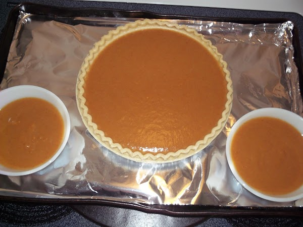 Mix all ingredients (except for pie shell) together & pour into pie shell. Place...