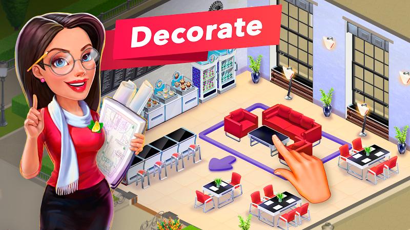 My Cafe — Restaurant game Screenshot 1