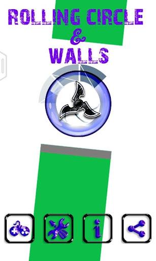 滾環和牆壁