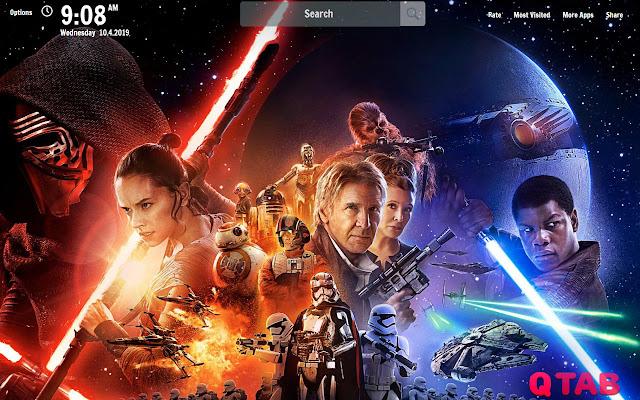 Star Wars New Tab Star Wars Wallpapers