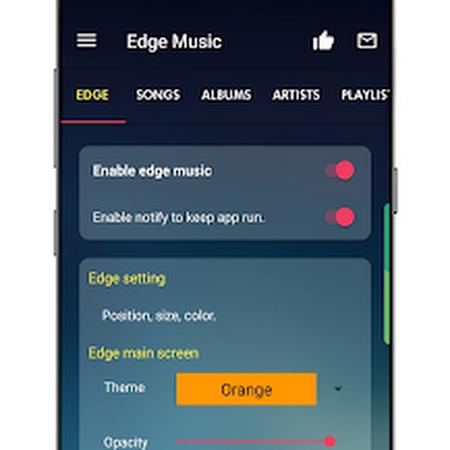 QnA VBage Music player S10 EDGE Galaxy v1.0630