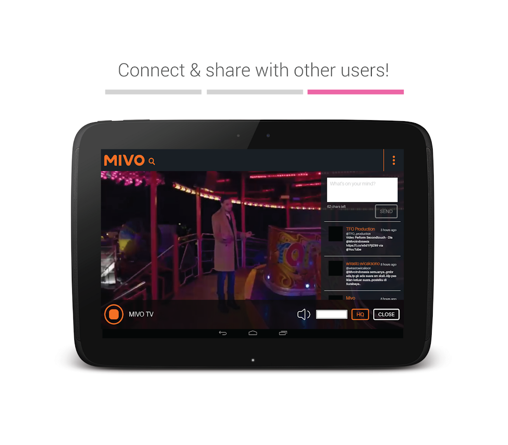 Mivo- screenshot