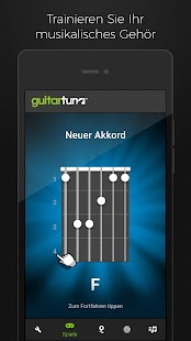 Guitar Tuna Stimmgerät / Tuner Screenshot