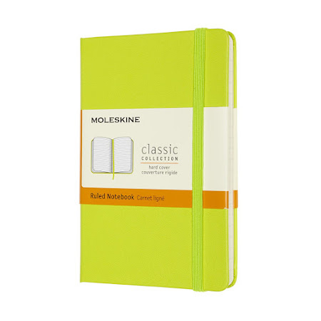 Classic Hard Cover Pocket Plain Lemon Green