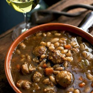 HERBED WHITE BEAN and SAUSAGE STEW Recipe