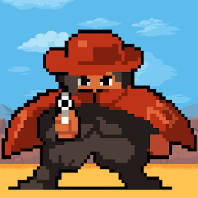Duel of Legends - western pixel game