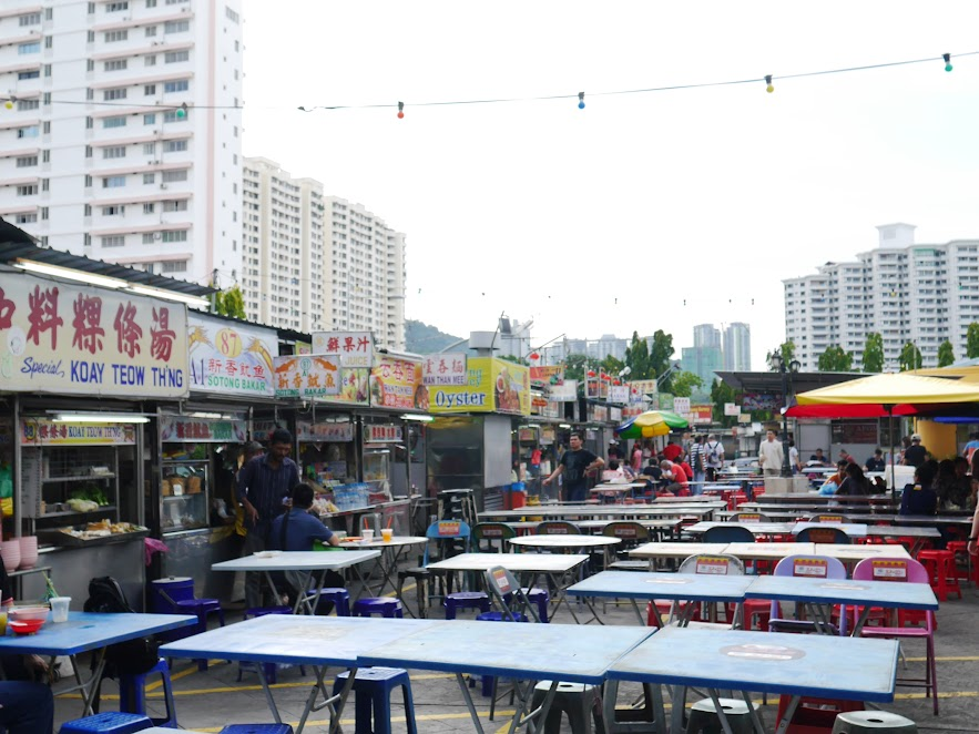 Penang Travelogue - (Part 3): Gurney Drive Hawker Centre, Kimberly Food Street, Kopi and Toast @ Gat Lebuh Chuliah