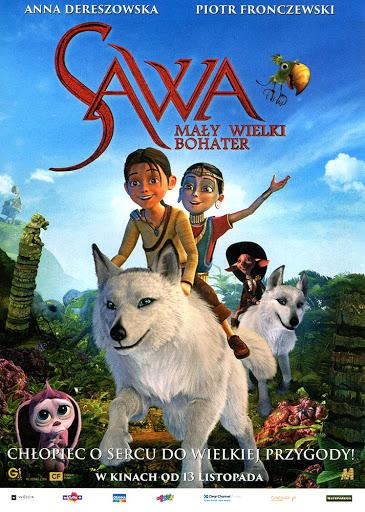 Przód ulotki filmu 'Sawa. Mały Wielki Bohater'