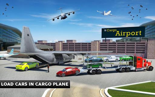 Cargo Plane Flight School: Car Transport Game 2018 1.1 screenshots 8