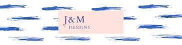 J & M Designs - Etsy Shop Big Banner template