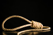Death by hanging is one of the most common forms of suicide in SA. Stock image.