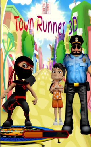 Town Runner Adventures 3D screenshot 1