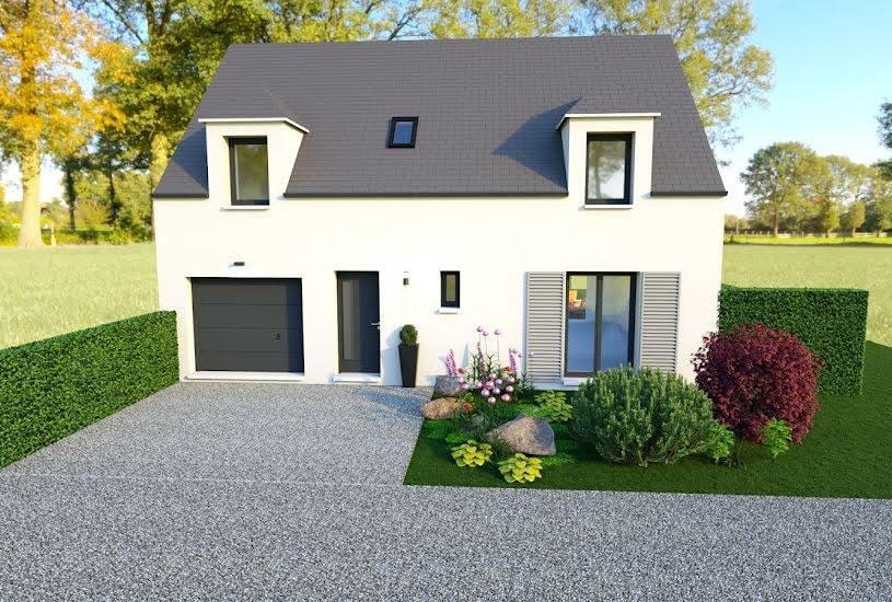 Vente Terrain + Maison - Terrain : 498m² - Maison : 120m² à Bullion (78830)