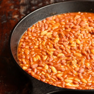 Pork Belly Baked Beans