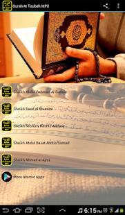 Sura At Taubah MP3 سورة التوبة - náhled