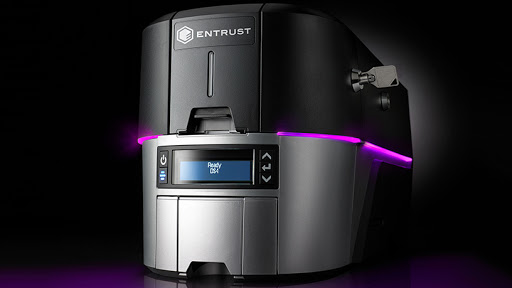 The new Entrust Sigma instant ID system leverages encryption, trusted HSM technology and secure boot to issue secure physical and mobile identities. (Photo: Business Wire)