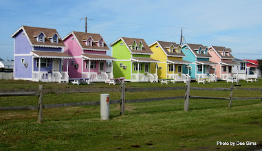 Photo: (Year 3) Day 119 - Lovely Pastel Houses in Hatteras Village