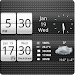 Sense Analog Small Clock 4x1 APK