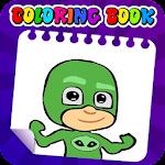 PJ Masks-coloring icon