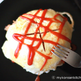 Omelet Rice (Omurice)