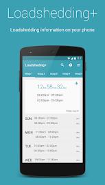 Loadshedding + Screenshot 1