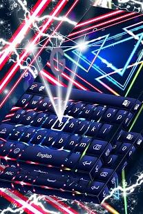 Volné neonové klávesnice - náhled