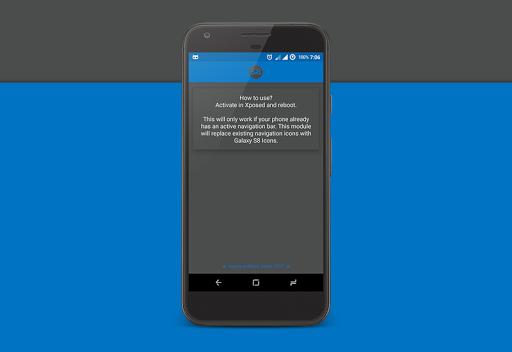 Galaxy S8 Navigation Bar 1.0 screenshots 1