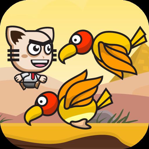动作の【カジュアルゲーム】 Vulture LOGO-記事Game