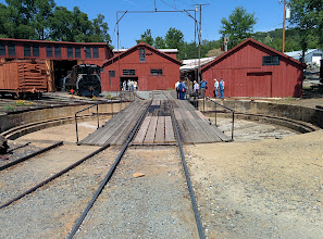 Photo: The last functioning Railroad roundhouse in America, at Railtown 1897 State Historic Park in Jamestown, CA