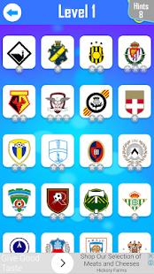 Football Logo Quiz 2018 - náhled