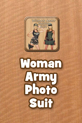 Woman Army Photo Suit