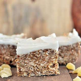 Healthy Tropical Breakfast Bars.