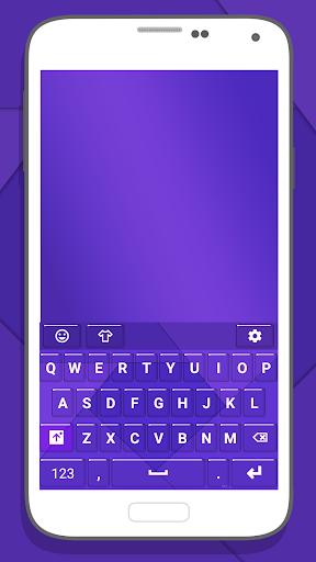 Purple Keys for Emoji Keyboard