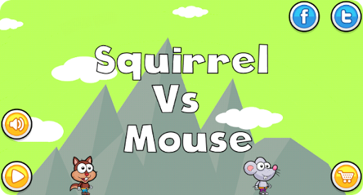 Squirrel Vs Mouse