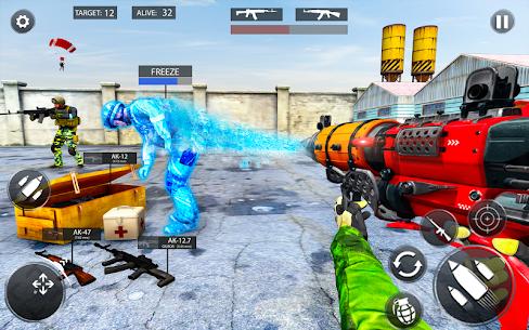 Freeze Gun Shooting Strike MOD (GOD MODE/FREEZE ENEMY/NO ADS) 3