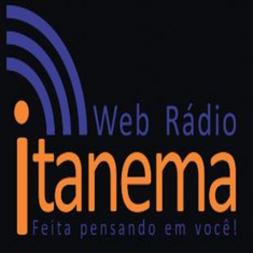 Web Radio Itanema: captura de tela