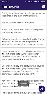 Download Political Quotes and Sayings For PC Windows and Mac apk screenshot 1