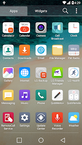 G5 UX 5.0 Theme for LGHome v1.9