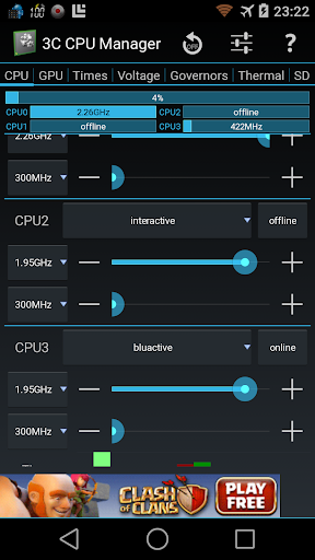 3C CPU Manager screenshot 7