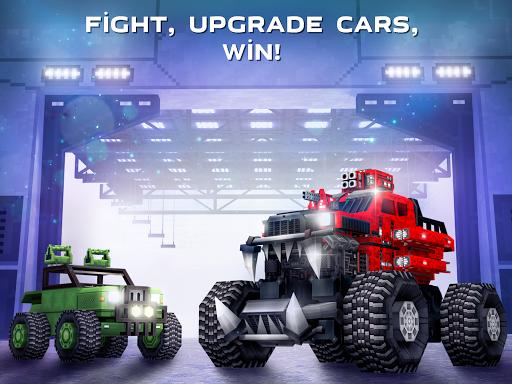 Blocky Cars - Online Shooting Game screenshots 6