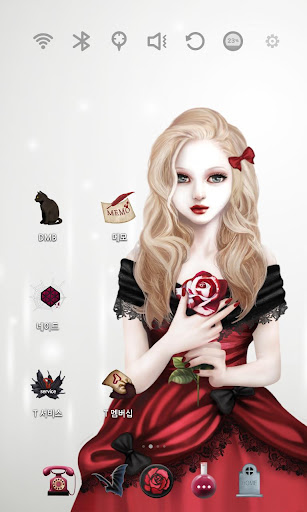 玩免費個人化APP|下載Vampire Girl Launcher Theme app不用錢|硬是要APP