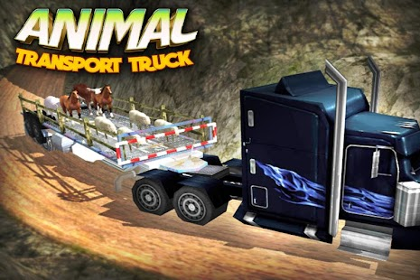 3D 4x4 Animal Transport Truck - náhled