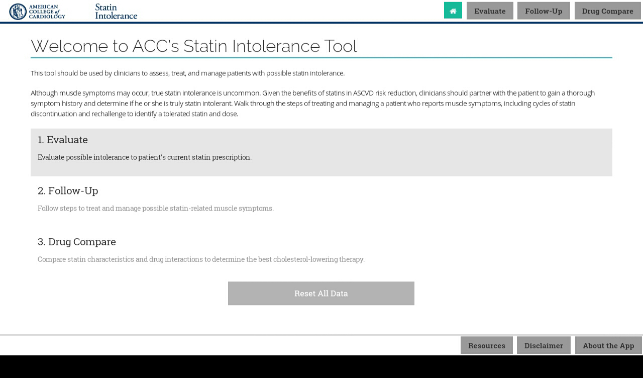 Statin Intolerance- screenshot